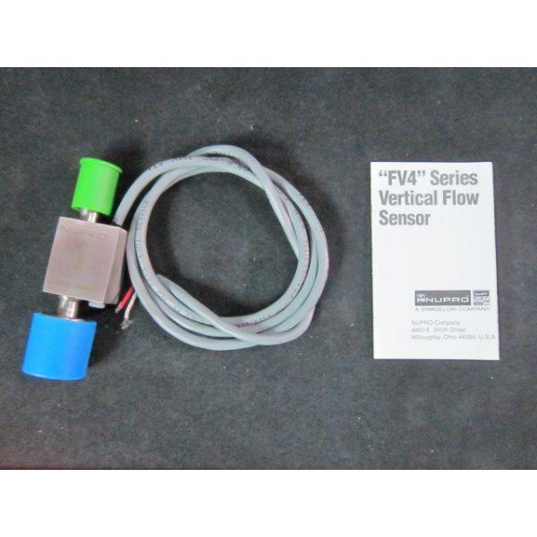 NUPRO 6L-FV4D-FR4-VR4 FV4 Series Vertical Flow Sensor