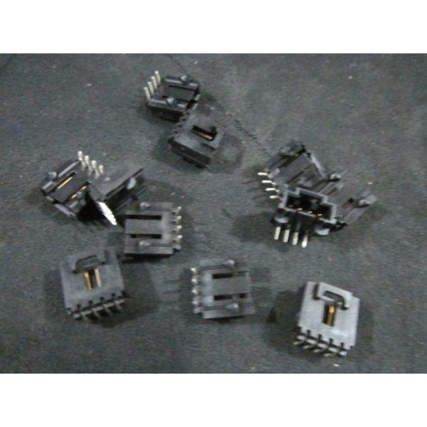 MOLEX 70555-0038 PACK OF 11 CONN SINGLE ROW 0120  POCKET RIGHT ANGLE