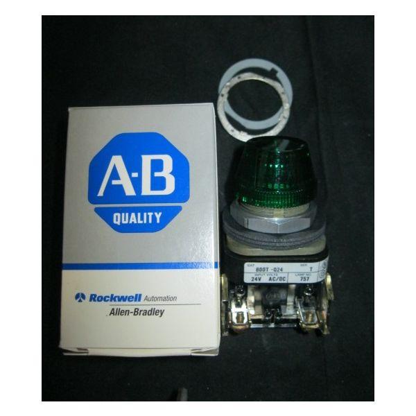 Allen-Bradley 800T-Q24T 800T-Q24 T PILOT LIGHT GREEN