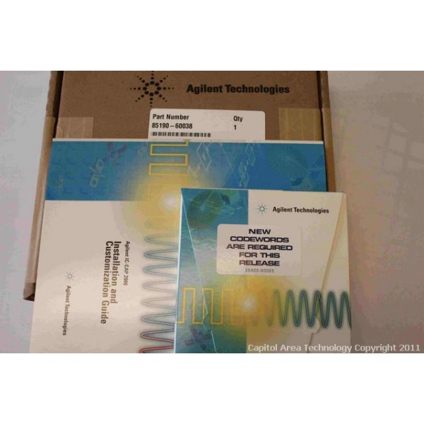 AGILENT TECHNOLOGIES 85190-60038 KIT UPGRADE IC-CAP 2006A
