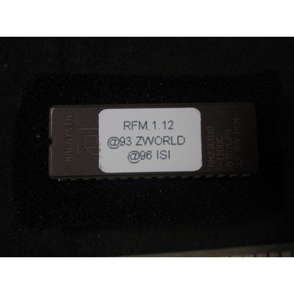 Lam Research LAM 855-034502-002 RF DIGITAL CONTROLER SOFTWARE MALAYSIA AM27C010-120DC9702CPA 1275V P