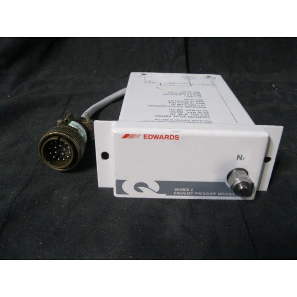 BOC EDWARDS A52856000 QDP Series 3 Exhaust Pressure Module