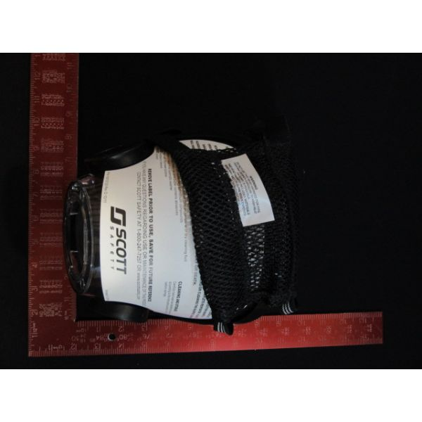 SCOTT HEALTH AND SAFETY 805774-08 SAFETY MASK AV3K POLY HH GRAY NC MD