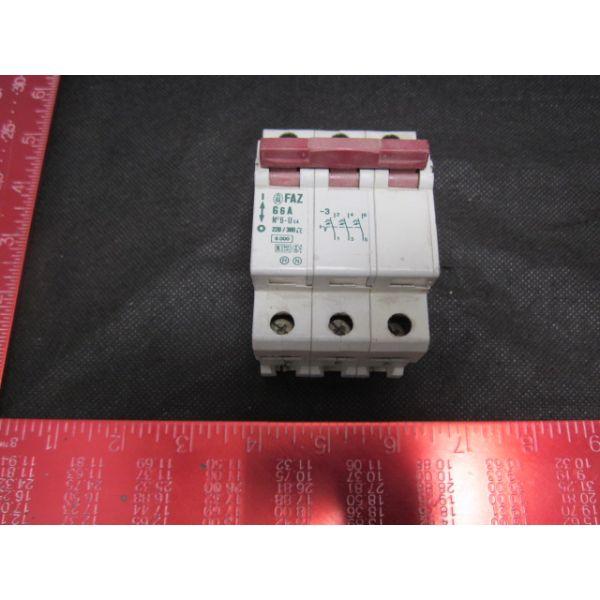 KLOCKNER-MOELLER FAZ-G6A CIRCUIT BREAKER AUTOMATIC 3-POLIG G-6A K