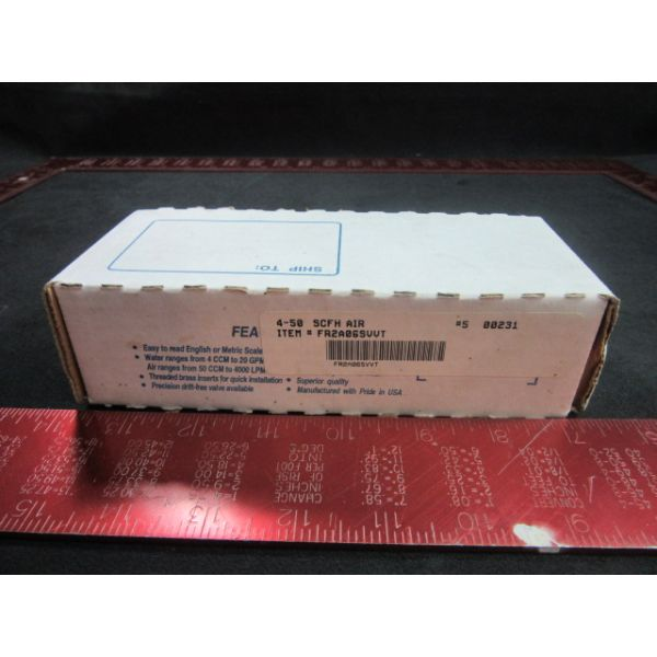 Key Instruments FR2A06SVVT Brooks Automation Meter Acrylic 2IN4-50SCFH