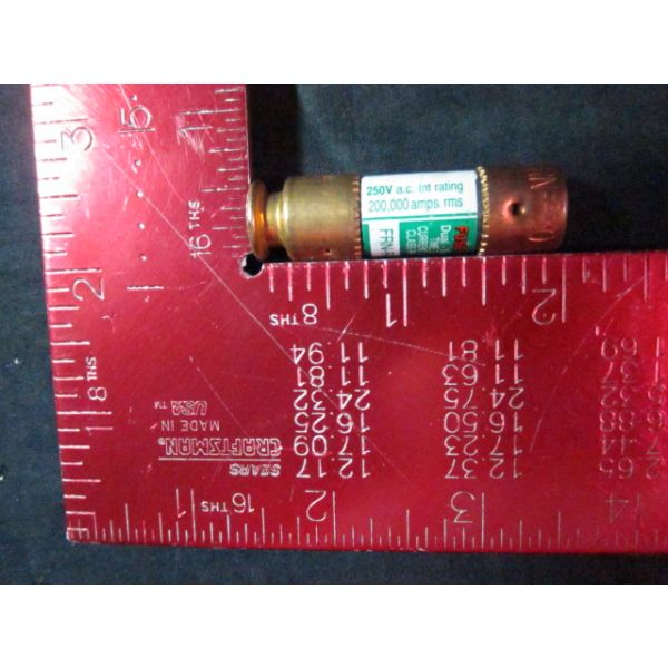 BUSSMAN FRN-R-30 Fuse FUSETRON DUAL - Element Time Delay Current Limiting CLAS RK5 250V AC 200000 AM