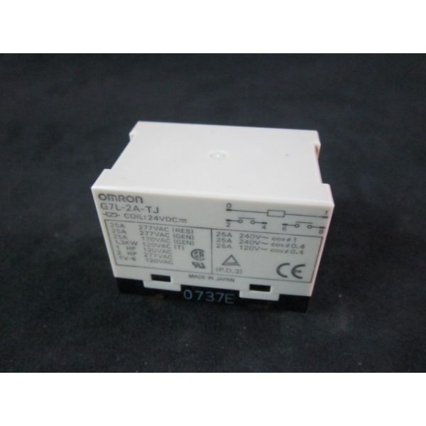 OMRON G7L-2A-TJ Heavy Duty Relay Coil 24 VDC--not in original packaging