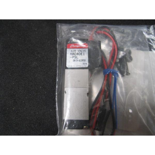 HUMPHREY HA040E1-PSL VALVE SOL 24VDC 100PSI 3PORT