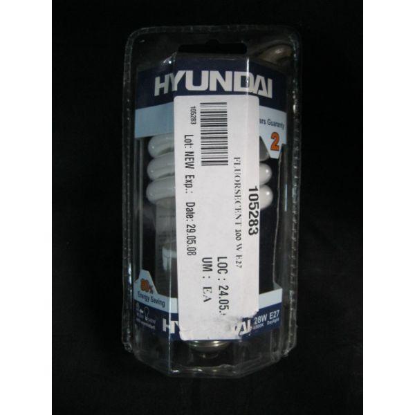 HYUNDAI HYS-2827DL-E27-6500K HYUNDAI 28W 140W EQUIVALENTE27 6500K 220-240V 5060HZ LAMP