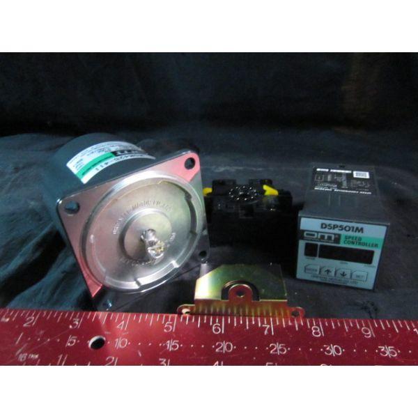 ORIENTAL MOTOR MSD425-411D DSP501M Speed Controller MSM425-411 Speed Control Motor MOTOR with contro
