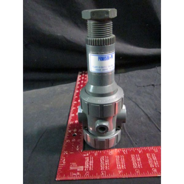 PLAST-O-MATIC VALVES PRM050V-PV Pressure Regulator PVC 12  PRO50V-SS PL