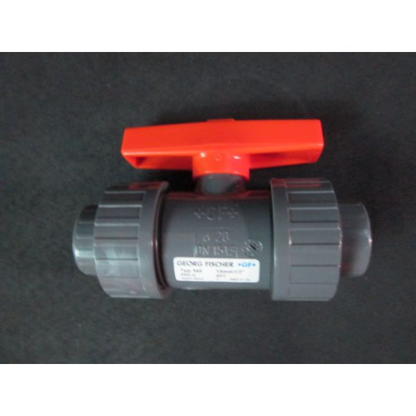 GEORG FISCHER PVC-U Ball Valve Type 346 15mm 12 EPT DN 15 12--not in original packaging