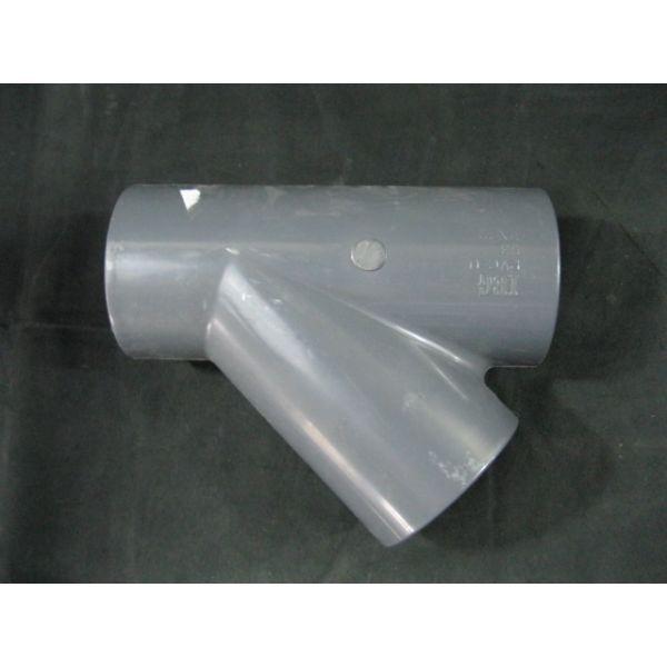 IBG PVC-U-63-PN-10 IBG PVC-U 63 PN 10 45 DEGREE TEE FITTING PVC