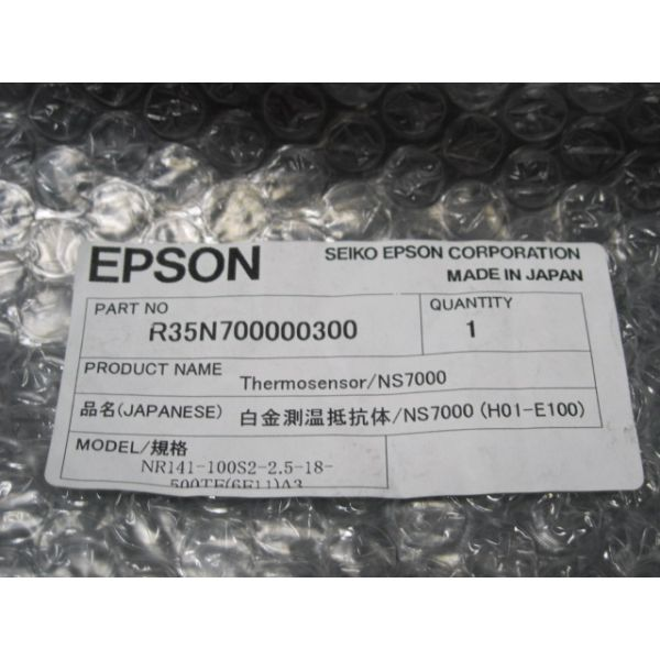 EPSON R35N700000300 THERMOSENSOR NS7000 NR141-100S2-25-18-500TE