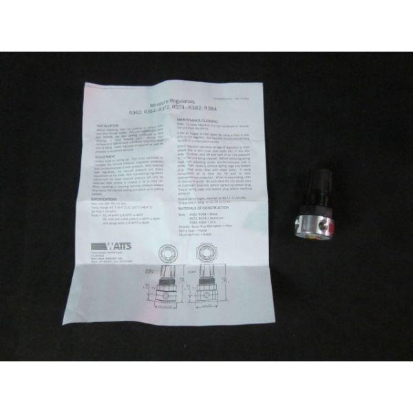 WATTS FLUIDIR R374-01A Miniature Regulator Pressure Range 025 300 PSIG Maximum Inlet