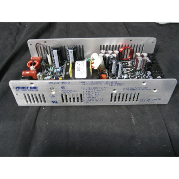 POWER-ONE SPL130-4000 SUPPLY, ELECT RACK POWER