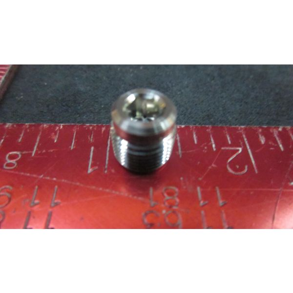 Swagelok SS-2-HP Stainless Steel Pipe Fitting Hollow Hex Plug 18 in Male NPT