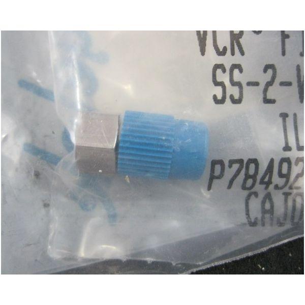Swagelok SS-2-VCR-P COUPLING BLINDCAP SS-2-VCR-P