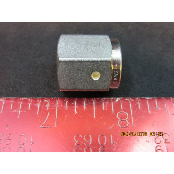 SWAGELOK SS-4-VCR-1 316 SS VCR Face Seal Fitting 14 Female Nut