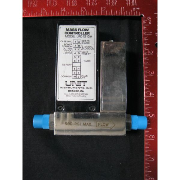 UNIT UFC-1210A-20SLM-H2 MASS FLOW CONTROLLER RANGE 20LM GAS H2