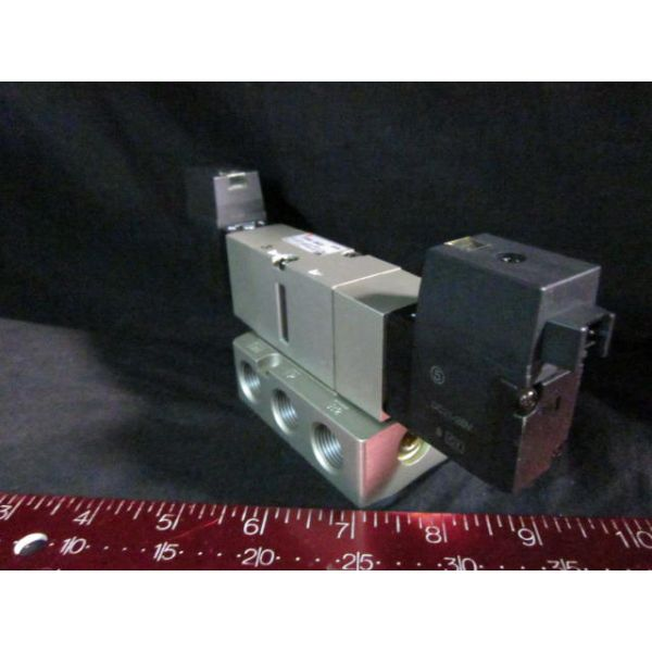 SMC VF3340-5MOZB VALVE Solenoid 24V 3POS DBL SUPPLY PRESS 01509MPa