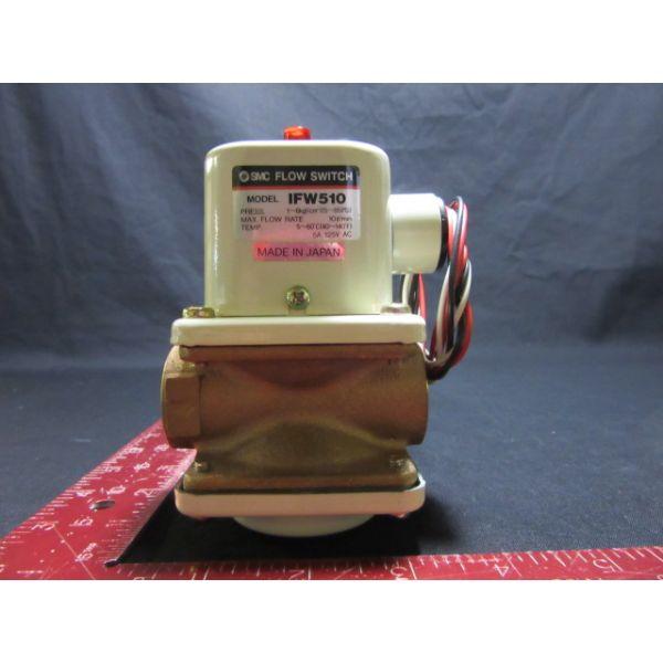 SMC IFW510-04-01-XJ SWITCH, FLOW 0.1~0.6MPa, 10/min, 5~60C