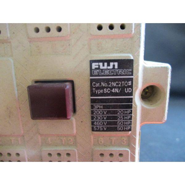 FUJI ELECTRIC 2NC2T0 TYPE: SC-4N/ UD 24-25V, 50-60Hz