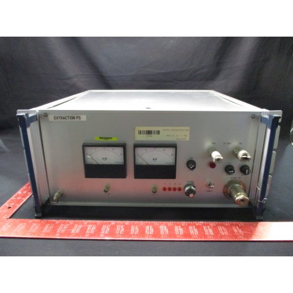NISSIN NI86-0716-6 EXTRACTION POWER SUPPLY