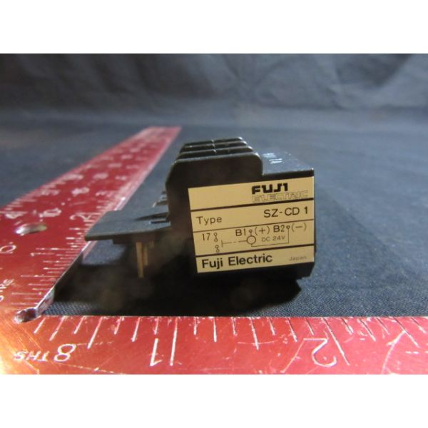 FUJI ELECTRIC SZ-CD1 NEW (Not in Original Packaging) RELAY ACCESSORIES COIL DRIVE UNIT FOR CONTACTOR
