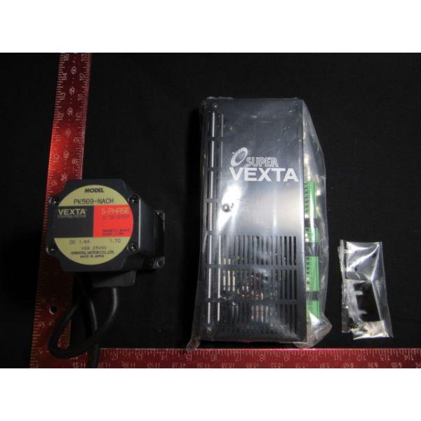 ORIENTAL MOTOR CO UPK569-NACM NEW (Not in Original Packaging) PK569-NACM MOTOR, SUPER VEXTA 5-PHASE DRIVER UDK5114N-M