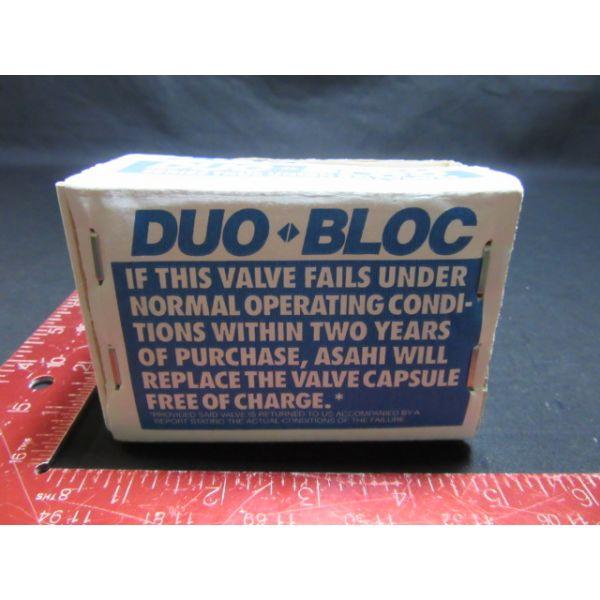 ASAHI VBB-1-2 DUO BLOCK C-PVC 1/2 inch 150 psi